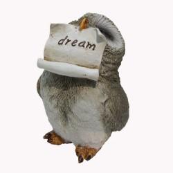 Uil met briefje Dream