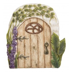 Rustiek eiken fairy door XL