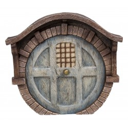Bakstenen burcht fairy door XL