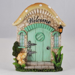 Fairy door (XL) Paddenstoel deur