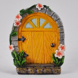 Fairy door (small) Gele fairy door
