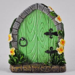 Fairy door (small) Groene fairy door