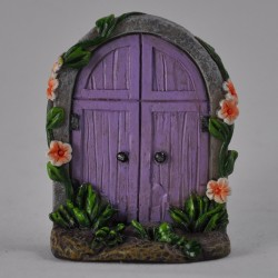 Fairy door (small) Paarse fairy door