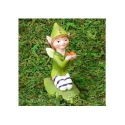 Knielende blad fairy XL