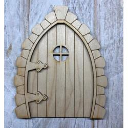 Houten fairy deur 3D Boog