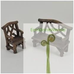 Bank en stoelen set (tak)