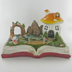 fairygarden in een boek