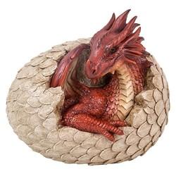 Baby draak uit een ei