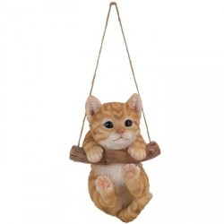 Schommelend kitten (rood)