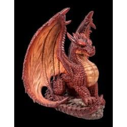 Mythische rode draak