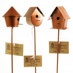 Miniatuur vogelhuisjes (3-delig)