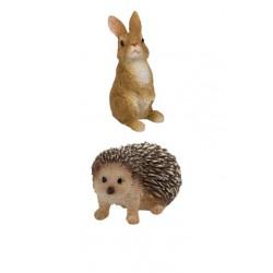 Egel en konijn (duo pak)