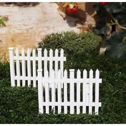 Wit tuinhekje (2 stuks)