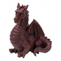 Rode gevleugelde draak
