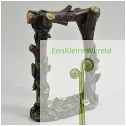 Houten tuinboog