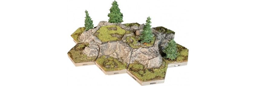 Tabletop tegels