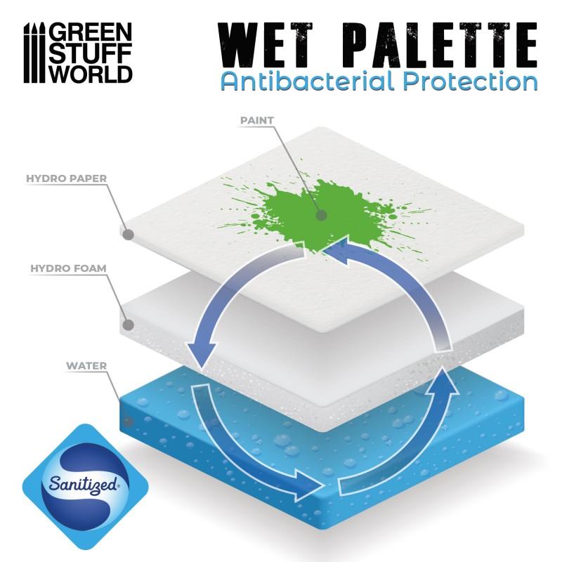 Wet palette systeem van GreenStuffWorld