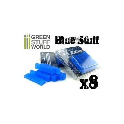 Blue Stuff - herbruikbare mallen maker 8 sticks