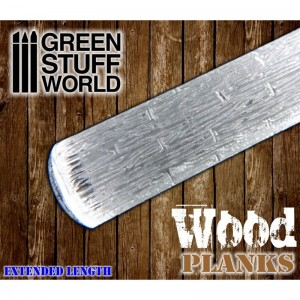 Rolling pin Wood / Planks - figuur roller Houten planken