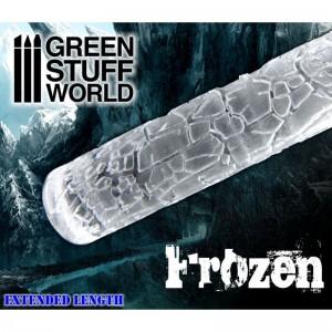 Rolling pin Frozen - figuurroller Gebarsten/Bevroren