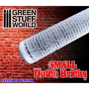 Rolling pin Small Dutch bricks - figuur roller Nederlandse klinkers