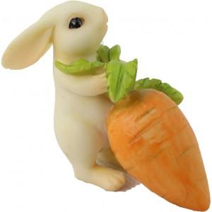 Konijn met wortel