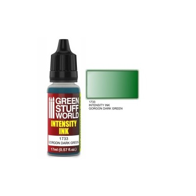 Intensity Ink Gorgon Dark Green (donkergroen)