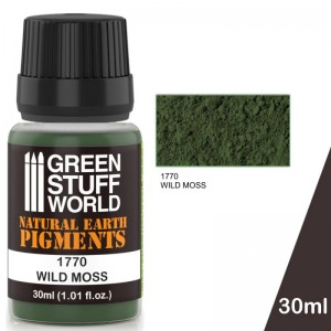 Pigment Wild moss (groen) (30ml)