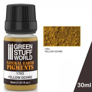 Pigment Yellow Ochre (Oker) (30ml)