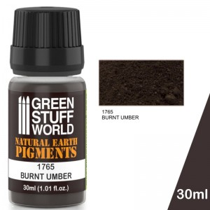 Pigment Burnt Amber (Donker bruin) (30ml)