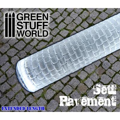 Rolling pin Sett pavement - figuur roller Straat
