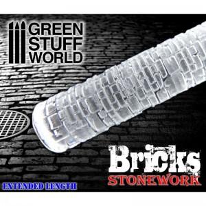 Rolling pin Bricks - figuur roller Stenen