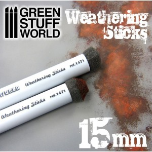 Weathering brushes - Sponskwasten 15mm (2st)