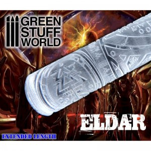 Rolling pin Eldar - figuur roller Eldar (Warhammer)