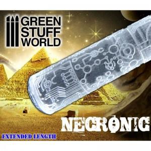 Rolling pin Necronic - figuur roller Necronic (Warhammer Necrons)