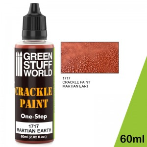 Crackle paint - craquelé verf Martian Earth 60ml