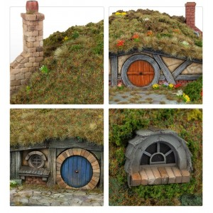 Hobbit Hol Set DIY (5-delig)