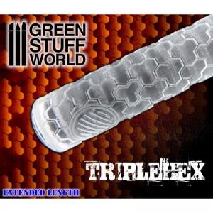 Rolling pin TripleHex - figuur roller TripleHex