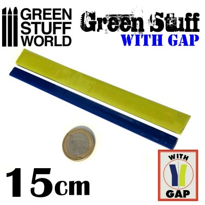 Green Stuff - kneed epoxy hars 15cm -6inch