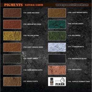 Pigment Light brown Earth (bruin) (30ml)
