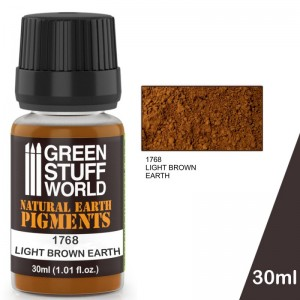 Pigment Light brown Earth (bruin) (30ml)