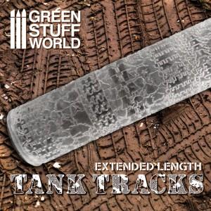 Rolling pin Tank tracks - figuur roller Rupsbanden