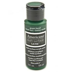 Americana Multi-Surface Satins 59ml Green Beret