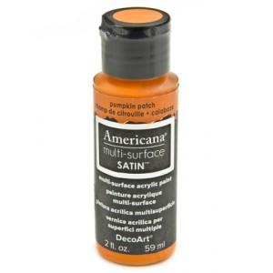 Americana Multi-Surface Satins 59ml Pumpkin Patch