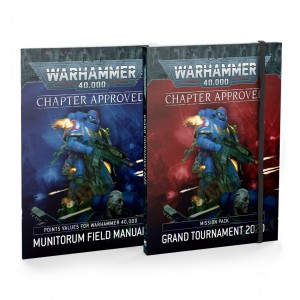 40K Chapter Approved: Grand Tournament 2020 Mission Pack and Munitorum Field Manual 2020 9th edition