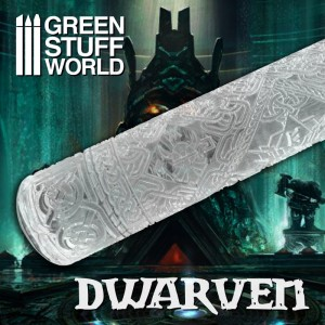 Rolling pin Dwarven - figuur roller Dwarven Age of Sigmar