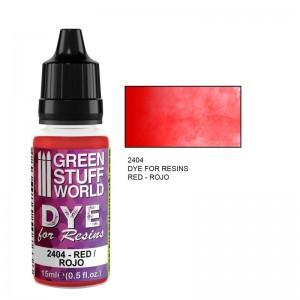Dye for resin Red - Rode kleurstof voor resin&epoxy 15ml
