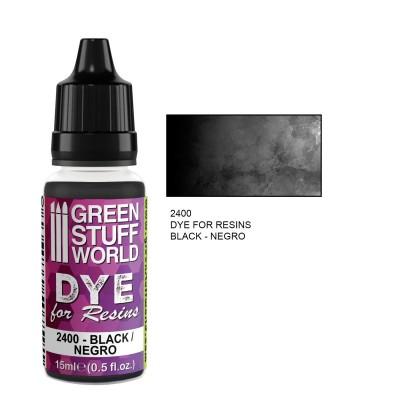 Dye for resin Black - Zwarte kleurstof voor resin&epoxy 15ml