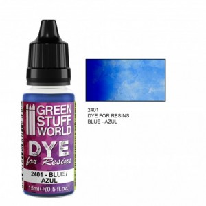 Dye for resin Blue - Blauwe kleurstof voor resin&epoxy 15ml