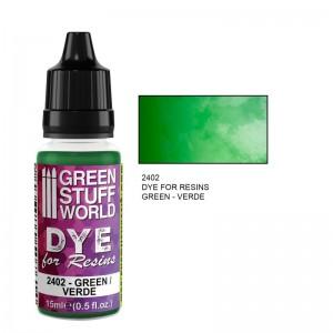 Dye for resin Green - Groene kleurstof voor resin&epoxy 15ml